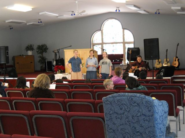 leading singing for sunday school