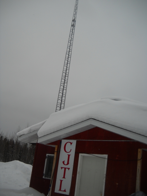 The radio station where we stayed