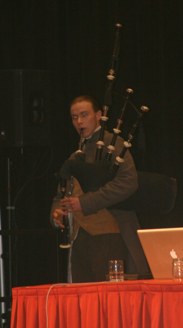 beautiful sound of bagpipes