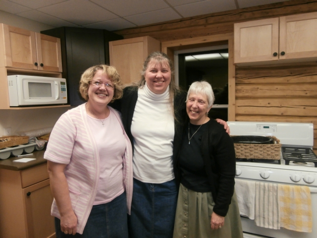 Mrs. Rassmussen, Mom, and Mrs. Crisco