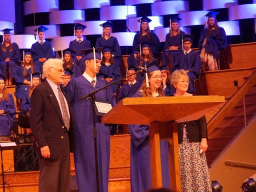 God's special blessing...Abigail was the female recipient of the John and Lynne Cook Scholarship!