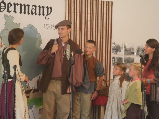 the Wissmanns' musical theater highlighted the story of Martin Luther