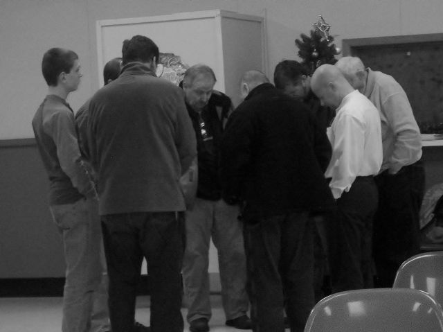 prayer before the service